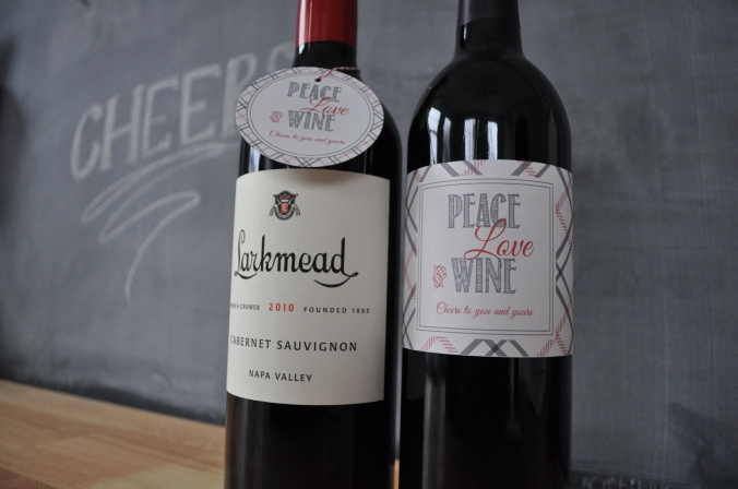 Holiday Wine Labels